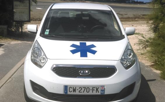 Ambulance de secours et de soins d
